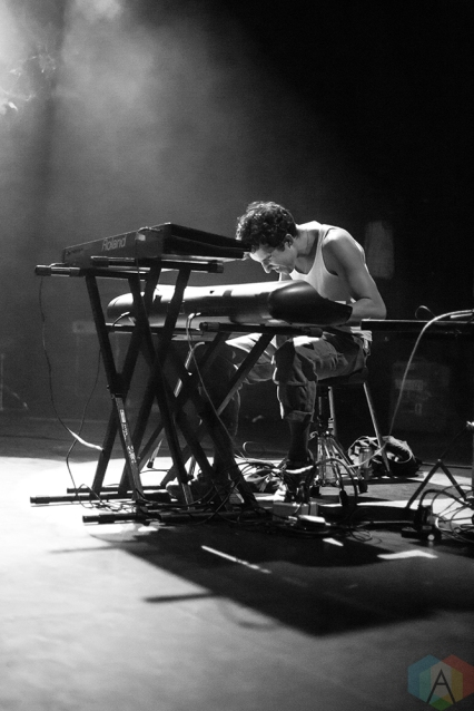 TORONTO, ON - MARCH 30: BadBadNotGood performs at Danforth Music Hall in Toronto on March 30, 2018. (Photo: Katrina Lat/Aesthetic Magazine)
