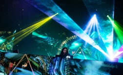 NEW ORLEANS, LA - MARCH 10: Bassnectar performs at Buku Festival in New Orleans on March 10, 2018. (Photo: Kelli Binnings/Aesthetic Magazine)