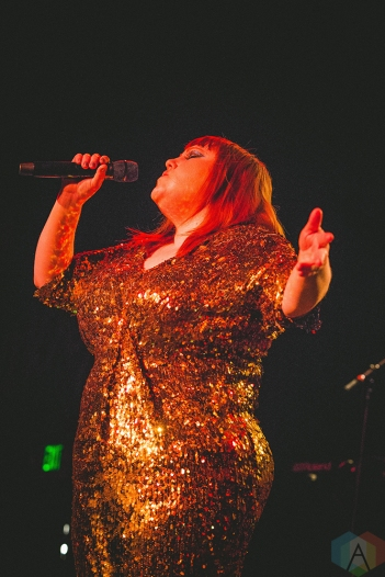 SEATTLE, WA - MARCH 29: Beth Ditto performs at The Showbox in Seattle on March 29, 2018. (Photo: Daniel Hager/Aesthetic Magazine)