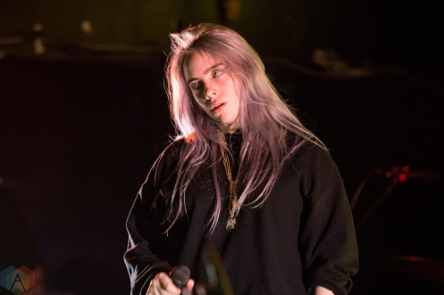 TORONTO, ON - MARCH 28: Billie Eilish performs at The Mod Club in Toronto on March 28, 2018. (Photo: Katrina Lat/Aesthetic Magazine)