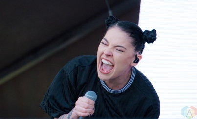NEW ORLEANS, LA - MARCH 09: Bishop Briggs performs at Buku Festival in New Orleans on March 09, 2018. (Photo: Kelli Binnings/Aesthetic Magazine)