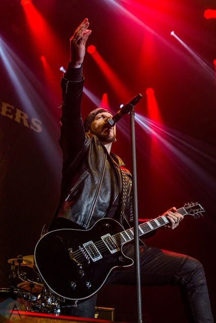 OSHAWA, ON - MARCH 28: Black Star Riders perform at Tribute Communities Centre in Oshawa on March 28, 2018. (Photo: Tyler Roberts/Aesthetic Magazine)