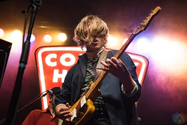 TORONTO, ON - MARCH 09: Colony House performs at Phoenix Concert Theatre in Toronto on March 09, 2018. (Photo: Morgan Hotston/Aesthetic Magazine)