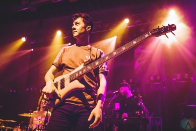 PONTIAC, MI - MARCH 18: Don Broco performs at Crofoot Ballroom in Pontiac, MI on March 18, 2018. (Photo: Rebekah Witt/Aesthetic Magazine)