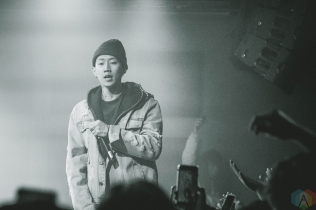 SEATTLE, WA - MARCH 20: Dumbfoundead performs at Neumos in Seattle on March 20, 2018. (Photo: Dan Hager/Aesthetic Magazine)