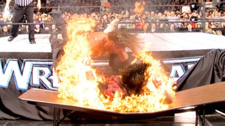 Edge Vs. Mick Foley at WWE Wrestlemania 22
