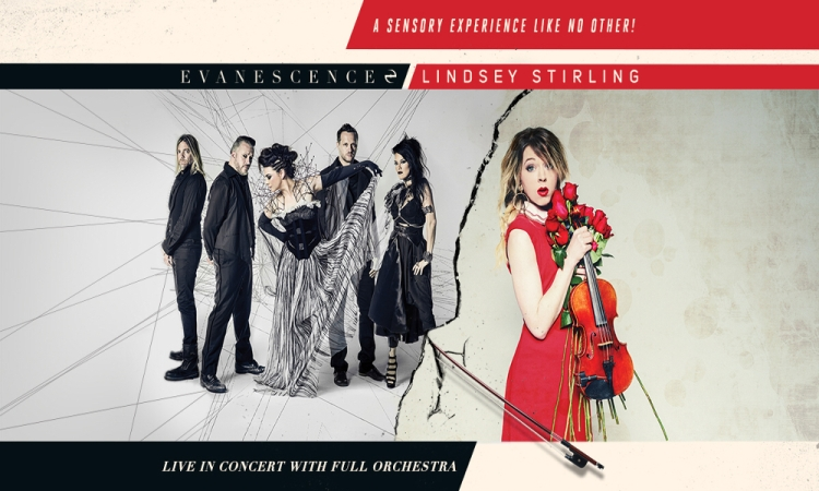 Evanescence & Lindsey Stirling 2018 Tour