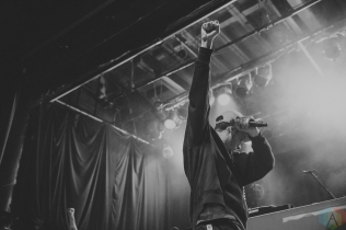 TORONTO, ON - MARCH 18: Evidence performs at Phoenix Concert Theatre in Toronto on March 18, 2018. (Photo: Lauren Garbutt/Aesthetic Magazine)
