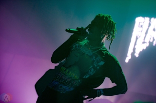 NEW ORLEANS, LA - MARCH 09: Flatbush Zombies performs at Buku Festival in New Orleans on March 09, 2018. (Photo: Kelli Binnings/Aesthetic Magazine)