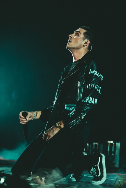 SAN FRANCISCO, CA - FEBRUARY 28: G-Eazy performs at Bill Graham Civic Auditorium in San Francisco, California on February 28, 2018. (Photo: Kyle Simmons/Aesthetic Magazine)