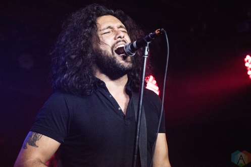 TORONTO, ON - MARCH 28: Gang of Youths perform at Velvet Underground in Toronto on March 28, 2018. (Photo: Morgan Harris/Aesthetic Magazine)