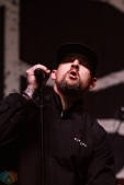COSTA MESA, CA - MARCH 17: Good Charlotte performs at Musink Festival at OC Fair & Event Center in Costa Mesa, California on March 17, 2018. (Photo: James Alvarez/Aesthetic Magazine)