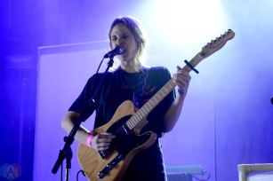 TORONTO, ON - MARCH 30: Helena Deland performs at The Mod Club in Toronto on March 30, 2018. (Photo: Patrick Bales/Aesthetic Magazine)