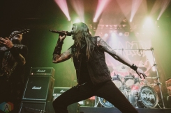 VANCOUVER, BC - MARCH 04: Iced Earth performs at Rickshaw Theatre in Vancouver on March 04, 2018. (Photo: Tim Nguyen/Aesthetic Magazine)