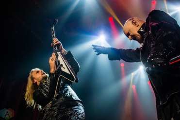 OSHAWA, ON - MARCH 28: Judas Priest performs at Tribute Communities Centre in Oshawa on March 28, 2018. (Photo: Tyler Roberts/Aesthetic Magazine)