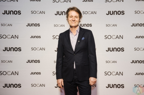 VANCOUVER, BC - MARCH 24: Jim Cuddy attends the Juno Gala Dinner at Vancouver Convention Centre East in Vancouver, BC on March 24, 2018. (Photo: Tim Nguyen/Aesthetic Magazine)