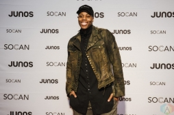 VANCOUVER, BC - MARCH 24: Kardinal Offishall attends the Juno Gala Dinner at Vancouver Convention Centre East in Vancouver, BC on March 24, 2018. (Photo: Tim Nguyen/Aesthetic Magazine)