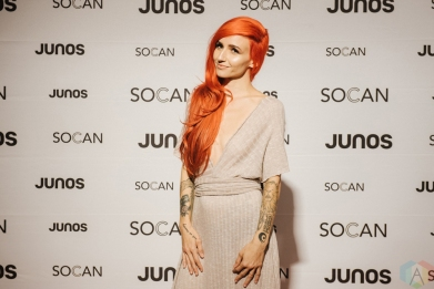 VANCOUVER, BC - MARCH 24: Lights attends the Juno Gala Dinner at Vancouver Convention Centre East in Vancouver, BC on March 24, 2018. (Photo: Tim Nguyen/Aesthetic Magazine)