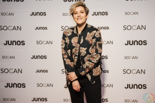 VANCOUVER, BC - MARCH 24: Ria Mae attends the Juno Gala Dinner at Vancouver Convention Centre East in Vancouver, BC on March 24, 2018. (Photo: Tim Nguyen/Aesthetic Magazine)