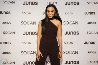VANCOUVER, BC - MARCH 24: Ruth B attends the Juno Gala Dinner at Vancouver Convention Centre East in Vancouver, BC on March 24, 2018. (Photo: Tim Nguyen/Aesthetic Magazine)