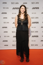VANCOUVER, BC - MARCH 24: Terra Lightfoot attends the Juno Gala Dinner at Vancouver Convention Centre East in Vancouver, BC on March 24, 2018. (Photo: Tim Nguyen/Aesthetic Magazine)