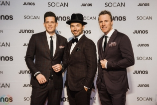 VANCOUVER, BC - MARCH 24: The Tenors attend the Juno Gala Dinner at Vancouver Convention Centre East in Vancouver, BC on March 24, 2018. (Photo: Tim Nguyen/Aesthetic Magazine)