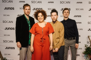 VANCOUVER, BC - MARCH 24: Weaves attends the Juno Gala Dinner at Vancouver Convention Centre East in Vancouver, BC on March 24, 2018. (Photo: Tim Nguyen/Aesthetic Magazine)