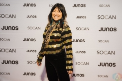 VANCOUVER, BC - MARCH 24: Buffy Sainte-Marie attends the Juno Gala Dinner at Vancouver Convention Centre East in Vancouver, BC on March 24, 2018. (Photo: Tim Nguyen/Aesthetic Magazine)