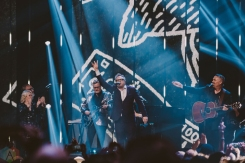 VANCOUVER, BC - MARCH 25: Barenaked Ladies perform at the Juno Awards at Rogers Arena in Vancouver on March 25, 2018. (Photo: Tim Nugyen/Aesthetic Magazine)