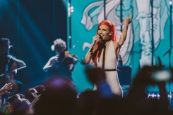 VANCOUVER, BC - MARCH 25: Lights performs at the Juno Awards at Rogers Arena in Vancouver on March 25, 2018. (Photo: Tim Nugyen/Aesthetic Magazine)