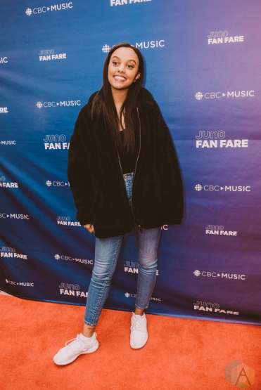 BURNABY, BC - MARCH 24: Ruth B attends JUNO Fan Fare in Burnaby, BC on March 24, 2018. (Photo: Tim Nguyen/Aesthetic Magazine)