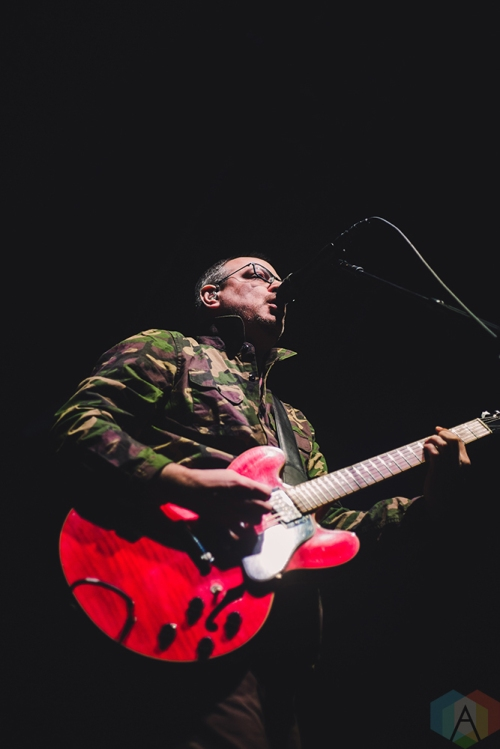 TORONTO, ON - MARCH 16: Matthew Good performs at Rebel in Toronto on March 16, 2018. (Photo: Sarah McNeil/Aesthetic Magazine)