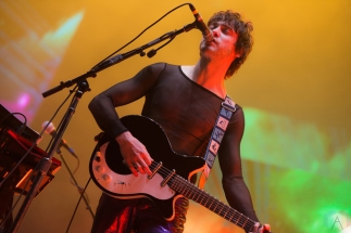 NEW ORLEANS, LA - MARCH 09: MGMT performs at Buku Festival in New Orleans on March 09, 2018. (Photo: Kelli Binnings/Aesthetic Magazine)