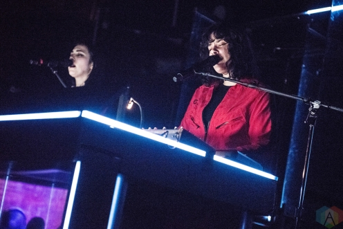 TORONTO, ON - MARCH 01: Milk And Bone performs at The Mod Club in Toronto on March 01, 2018. (Photo: Morgan Harris/Aesthetic Magazine)