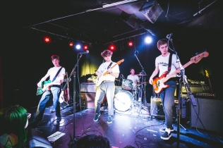SEATTLE, WA - MARCH 21: Mt. Eddy perform at Chop Suey in Seattle on March 21, 2018. (Photo: Dan Hager/Aesthetic Magazine)