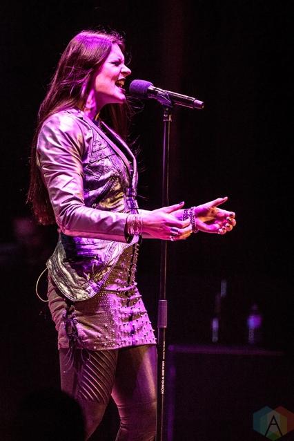 TORONTO, ON - MARCH 21: Nightwish performs at Massey Hall in Toronto on March 21, 2018. (Photo: David McDonald/Aesthetic Magazine)