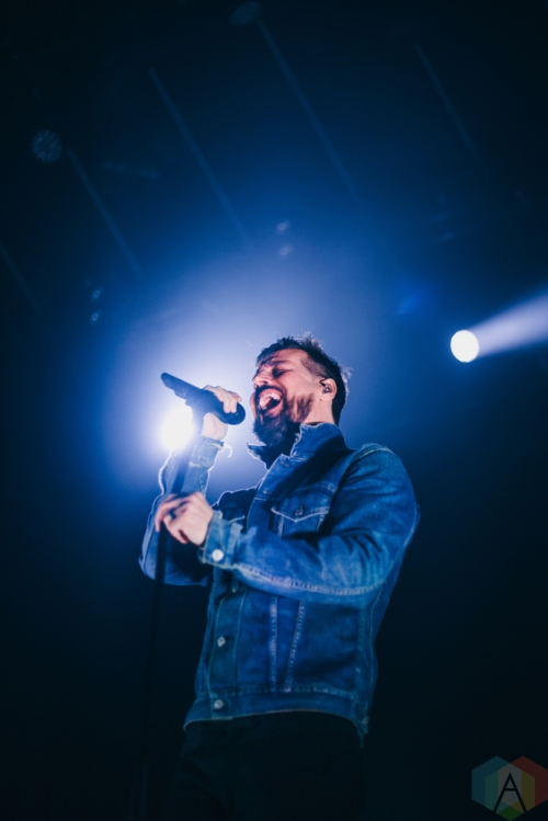 TORONTO, ON - MARCH 16: Our Lady Peace performs at Rebel in Toronto on March 16, 2018. (Photo: Sarah McNeil/Aesthetic Magazine)