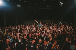 VANCOUVER, BC - MARCH 14: Pennywise performs at Commodore Ballroom in Vancouver on March 14, 2018. (Photo: Ray Maichin/Aesthetic Magazine)