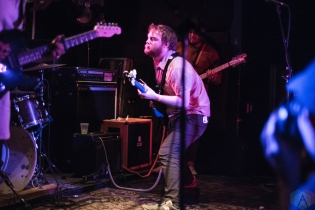 TORONTO, ON - MARCH 14: Radiator Hospital performs at Hard Luck Bar in Toronto on March 14, 2018. (Photo: Morgan Hotston/Aesthetic Magazine)