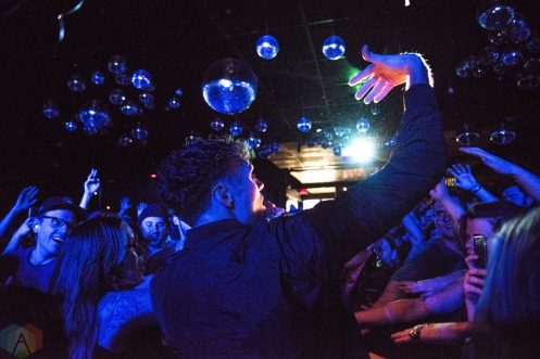 TORONTO, ON - MARCH 01: Rich Aucoin performs at Drake Hotel in Toronto on March 01, 2018. (Photo: Morgan Hotston/Aesthetic Magazine)