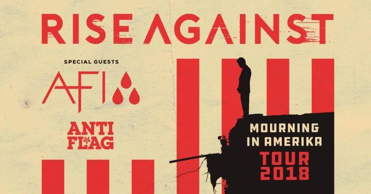 Rise Against 2018 Tour