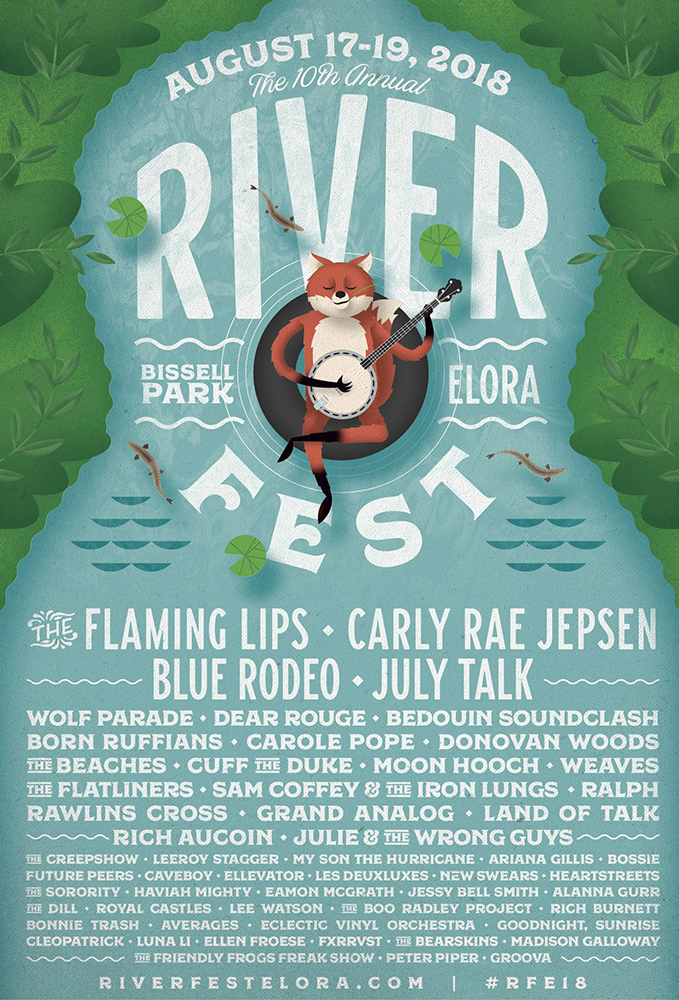 Image result for riverfest 2018 lineup