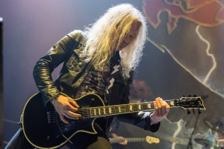 OSHAWA, ON - MARCH 28: Saxon performs at Tribute Communities Centre in Oshawa on March 28, 2018. (Photo: Tyler Roberts/Aesthetic Magazine)