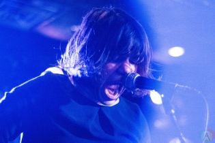 TORONTO, ON - MARCH 14: Screaming Females performs at Hard Luck Bar in Toronto on March 14, 2018. (Photo: Morgan Hotston/Aesthetic Magazine)