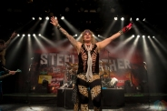VANCOUVER, BC - MARCH 15: Steel Panther performs at Commodore Ballroom in Vancouver on March 15, 2018. (Photo: Rob Porter/Aesthetic Magazine)