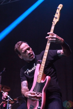 COSTA MESA, CA - MARCH 16: Strung Out performs at Musink Festival at OC Fair & Event Center in Costa Mesa, California on March 16, 2018. (Photo: James Alvarez/Aesthetic Magazine)