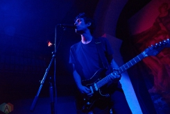 TORONTO, ON - MARCH 15: Suuns performs at The Great Hall in Toronto on March 15, 2018. (Photo: Morgan Harris/Aesthetic Magazine)