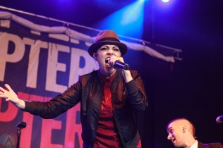 COSTA MESA, CA - MARCH 17: The Interrupters perform at Musink Festival at OC Fair & Event Center in Costa Mesa, California on March 17, 2018. (Photo: James Alvarez/Aesthetic Magazine)