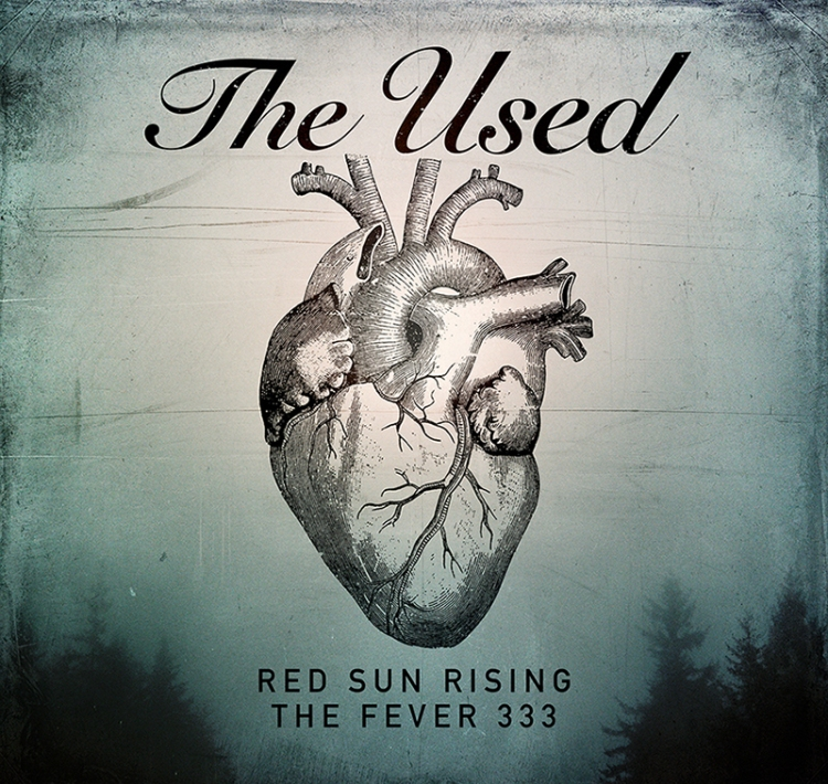 The Used 2018 Spring Tour