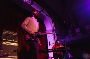 TORONTO, ON - MARCH 13: Titus Andronicus performs at The Great Hall in Toronto on March 13, 2018. (Photo: Josh Moody/Aesthetic Magazine)